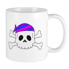 Bi Pirate Mug Mugs