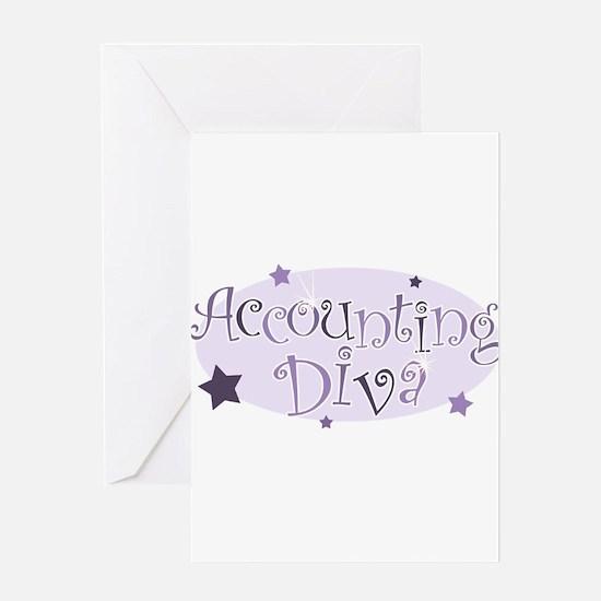 Accounting_DivaPurple Greeting Cards