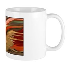 Cornucopia Abstract Art Mug