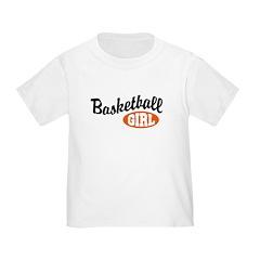 Basketball Girl Toddler T-Shirt