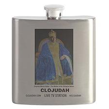 CLOJudah Empress Menen Asfaw Flask