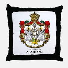 CLOJudah H.I.M. Royal Seal Throw Pillow