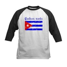 Cuban roots, distressed desig Tee