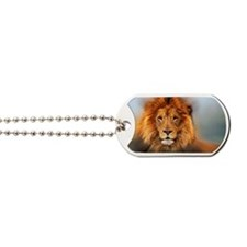 lion12345678910 Dog Tags