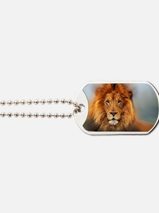 lion12345678910 Dog Tags
