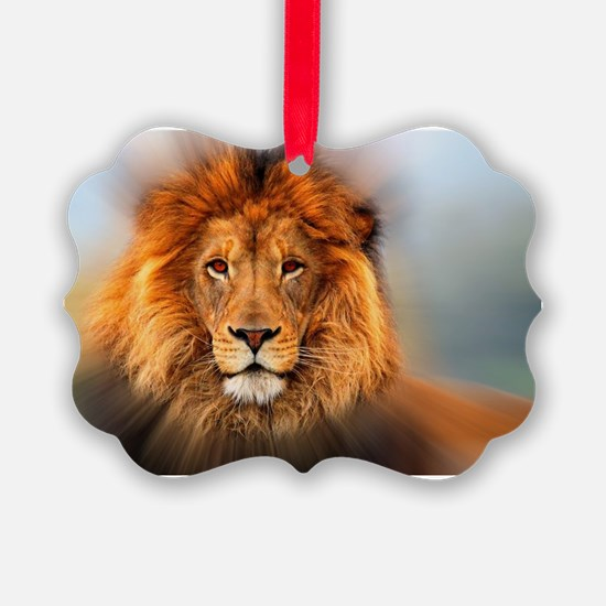 lion12345678910 Ornament