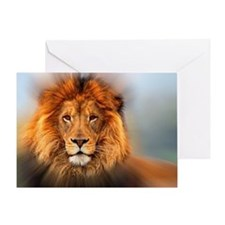 lion12345678910 Greeting Card