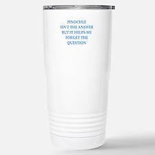pinochle Travel Mug