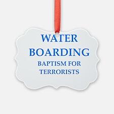 water boarding Ornament