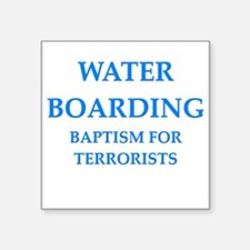 water boarding Sticker