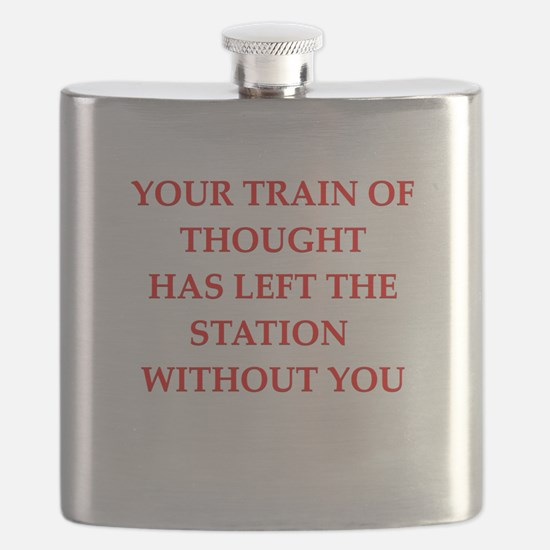 train of thought Flask