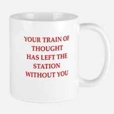 train of thought Mugs