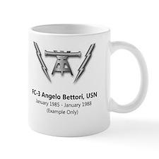 Cg-62 Uss Chancellorsville Fc Mug Mugs