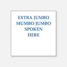 mumbo jumbo Sticker