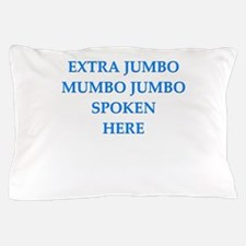 mumbo jumbo Pillow Case