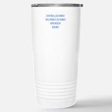 mumbo jumbo Travel Mug