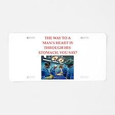 cardiology Aluminum License Plate