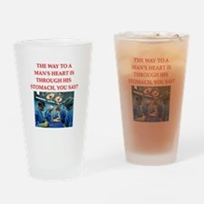 cardiology Drinking Glass