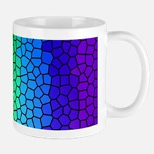 Rainbow Stained Glass Mugs