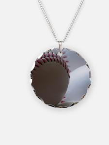 Baseballs Necklace