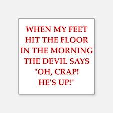 hit the floor Sticker