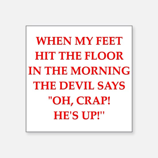 hit the floor Sticker