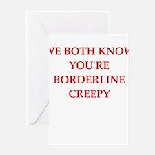 creepy Greeting Cards