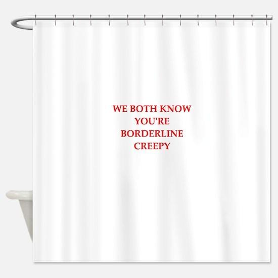 creepy Shower Curtain