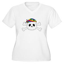 Autism Pirate Pride Plus Size T-Shirt