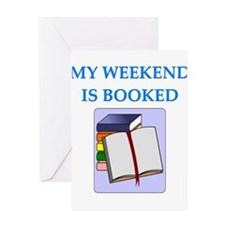 booked Greeting Cards