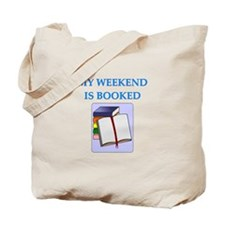 booked Tote Bag