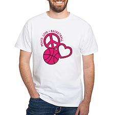 PEACE, LOVE, B-BALL Shirt