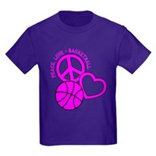 PEACE, LOVE, B-BALL T