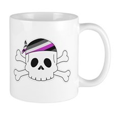 Ace Pirate Pride Mugs