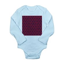 Red and Blue Stars Body Suit
