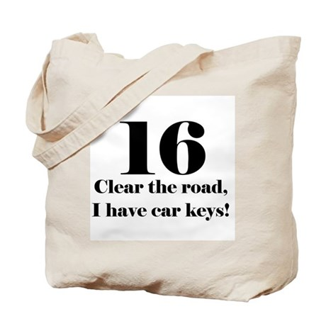 16 Clear the road Tote Bag