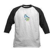 Watercolor Mountain Bluebird Bird nature Art Baseb