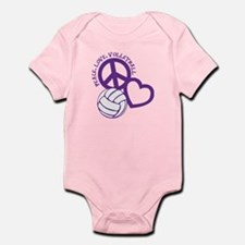 PEACE, LOVE, VB Infant Bodysuit