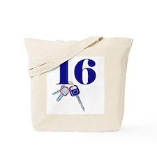 16 Keys Tote Bag