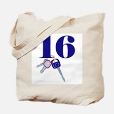 16 Keys Tote Bag