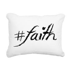 #Faith Rectangular Canvas Pillow