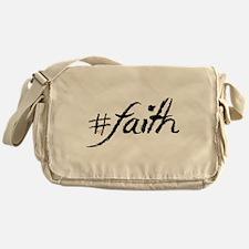 #Faith Messenger Bag