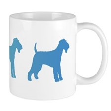 Airedale Blue Ombre Mug
