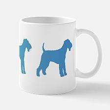 Airedale Blue Ombre Mug