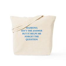 mahjong Tote Bag
