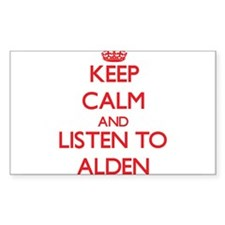 Keep Calm and Listen to Alden Decal