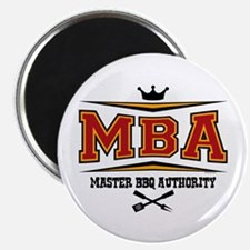 MBA Barbecue Magnet