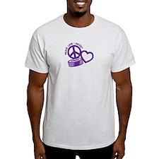 PEACE-LOVE-HOCKEY T-Shirt