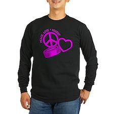 PEACE-LOVE-HOCKEY T