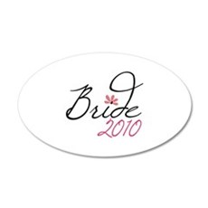 Bride 2010 Wall Decal